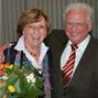 Ehrenvorsitzender Walter Bach mit unserer langjährigen Geschäftsführerin Renate Bäuml
