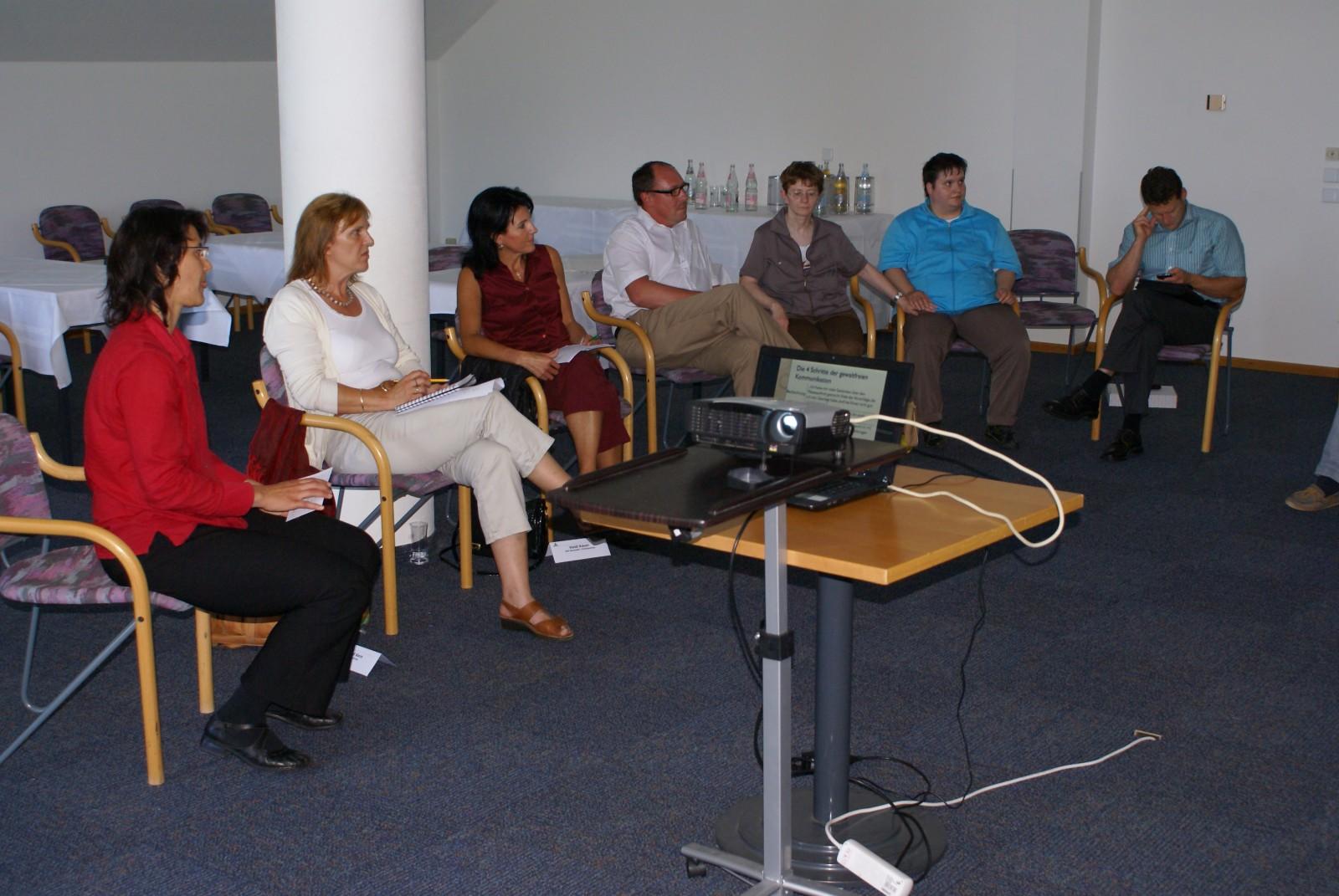 2012: Seminar Schlagfertigkeit