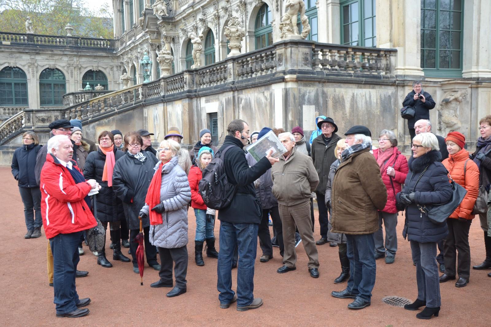 2013: Fahrt nach Dresden