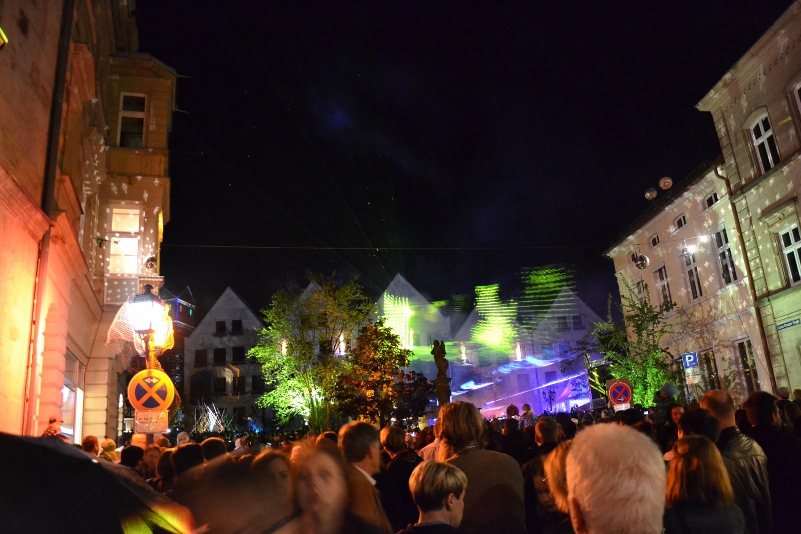 """2015: Besuch von """"Kronach leuchtet"""""""