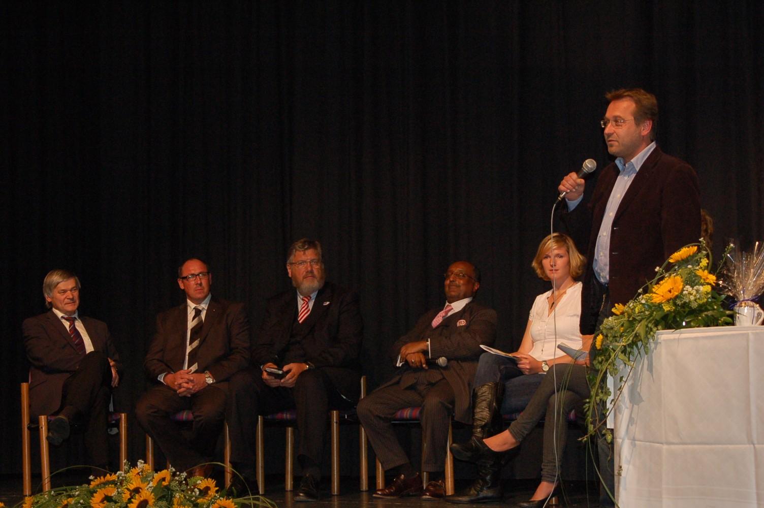 2010:  Vortrag Dr. Asfa-Wossen Asserate