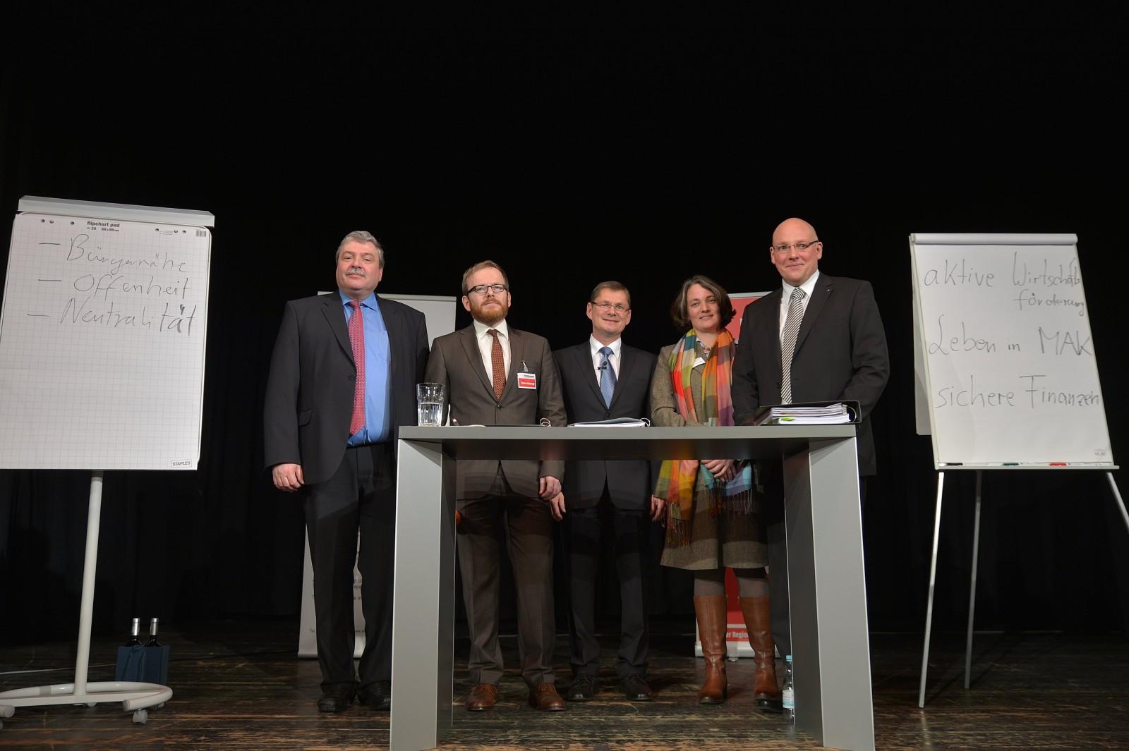 2014: Duell der Oberbürgermeisterkandidaten von Marktredwitz