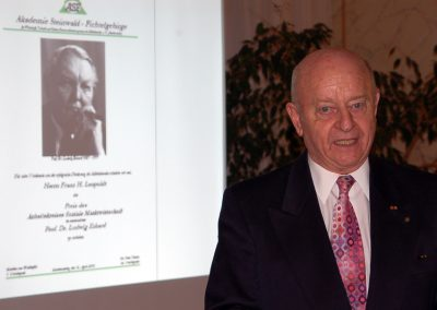 Preisverleihung Franz Leupold
