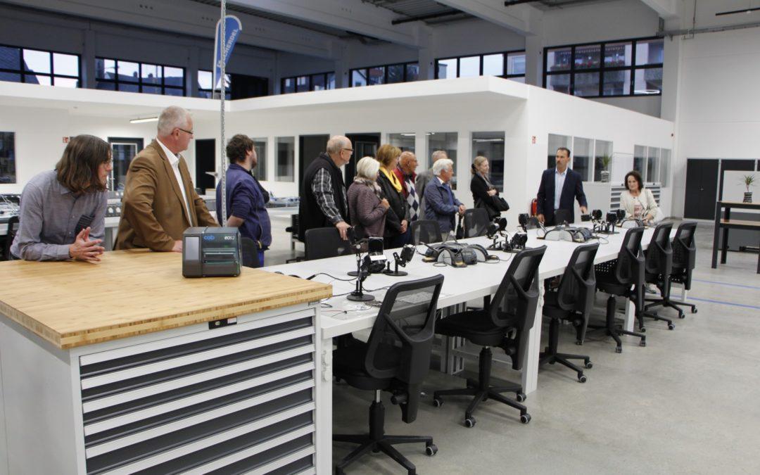 """Besichtigung des SCHERDEL Ausbildungs- und Trainingszentrums """"SCHATZ"""""""