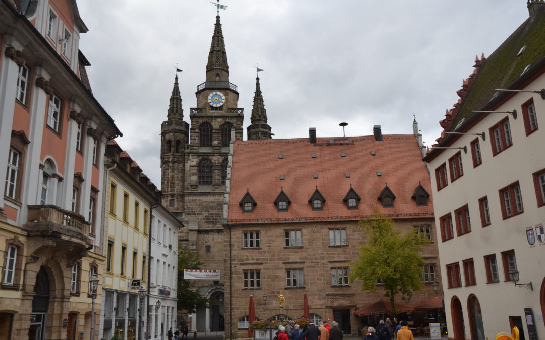 Tagesfahrt nach Ansbach
